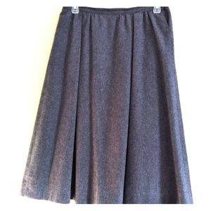 Pendleton 100% Virgin Wool Skirt with Pockets